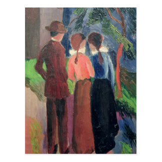 A caminhada, 1914 cartão postal