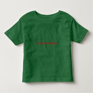 A camisa da criança