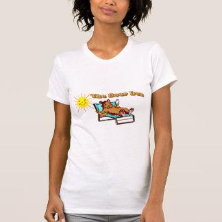 A camisa das mulheres do antro do urso t-shirt