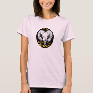 A camisa do crânio da cabra das senhoras da MOSTRA