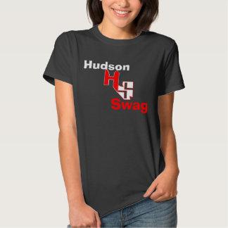 A camisa dos ganhos T de Hudson para mulheres! Tshirt