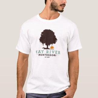 A camisa dos homens de Montessori do rio de maio