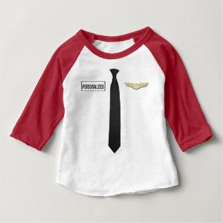 A camisa piloto personalizada, aviação caçoa a