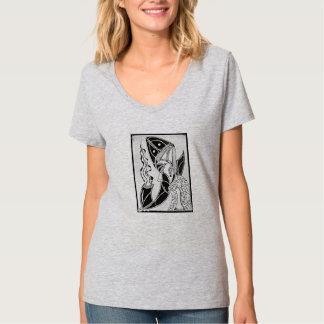 A camiseta das mulheres do mestre