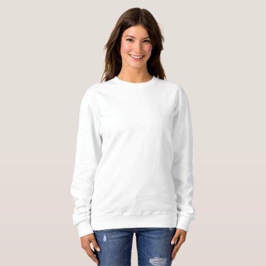 Suéter básico feminino, Branco