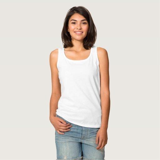 Regata Feminina Basic , Branco