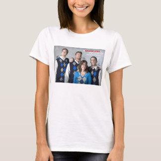 A camisola de alças desavergonhado das mulheres do t-shirt