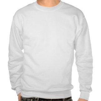 A camisola dos homens engraçados do gato do suéter