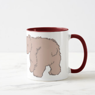 A caneca de cobre do urso