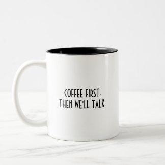 A caneca de um viciado do café