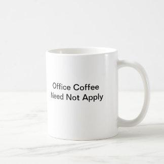 A caneca do amante do café (nenhum café do