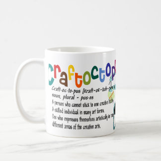 A caneca do Crafter de Craftoctopus
