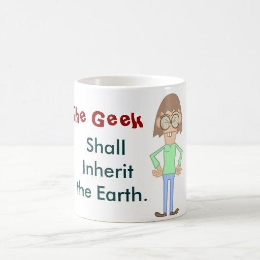 A caneca do geek