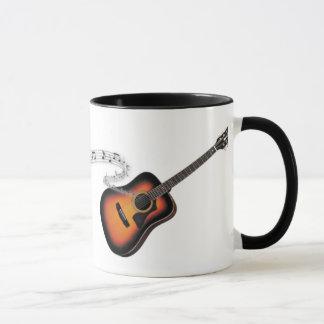 A caneca do guitarrista