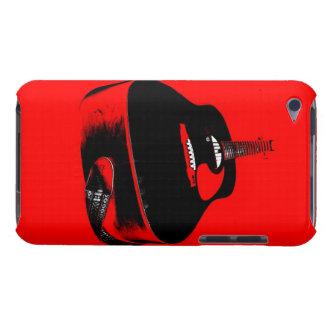 A capa de telefone do melómano do guitarrista
