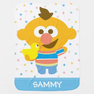 A cara do bebê de Ernie e Duckie   adicionam seu Cobertor De Bebe