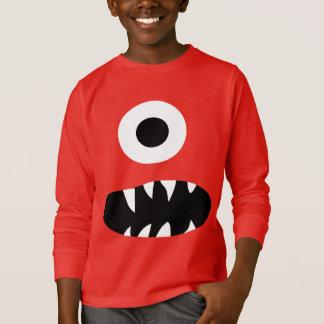 A cara Eyed do monstro do gigante o engraçado T-shirts