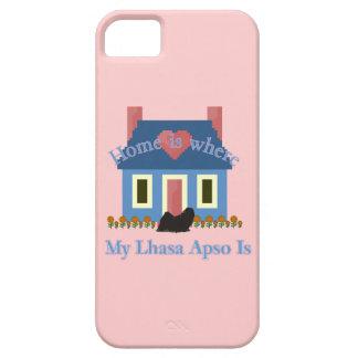 A casa de Lhasa Apso é Capas Para iPhone 5