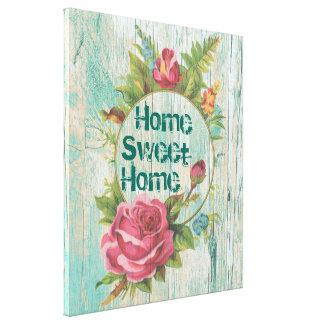 A casa doce Home, FAZ SEUS PRÓPRIOS Impressão Em Tela