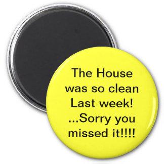 A casa era ímã limpo do humor imãs