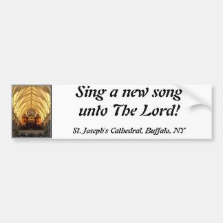 A catedral de St Joseph - sótão de coro/tubulações Adesivo Para Carro