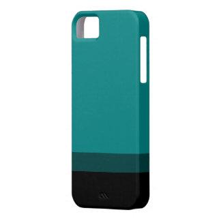 A cerceta desvanece-se para enegrecer o caso capas para iPhone 5