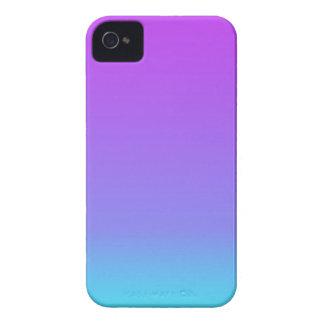 a cerceta violeta desvanece-se capa para iPhone 4 Case-Mate