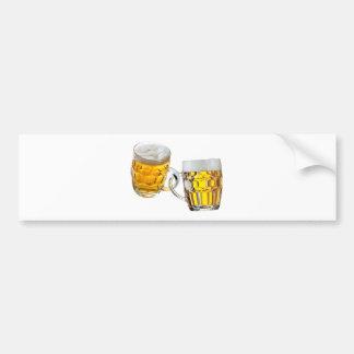 A cerveja é minha droga adesivo de para-choque