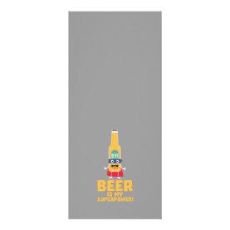 A cerveja é minha superpotência Zync7 10.16 X 22.86cm Panfleto