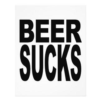 A cerveja suga panfletos personalizado