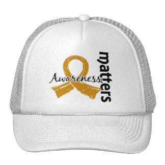 A consciência importa cancer de 7 apêndices bonés
