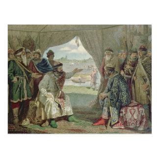 A convenção dos príncipes cartão postal