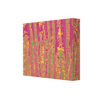 A cor rica de Purpule lista a apresentação Impressão Em Tela