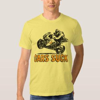 """A coroa Moto """"carros suga"""" o t-shirt dos"""