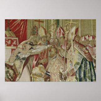 A coroação de Charles V Poster
