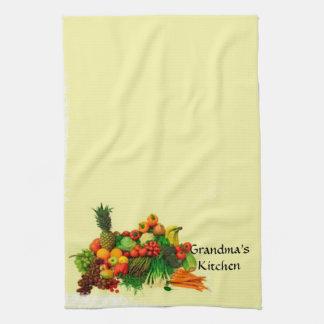 A cozinha da avó - toalha de cozinha