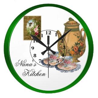A cozinha de Nana Relógios Para Paredes