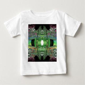 A criança futurista do desenhista do design caçoa tshirts
