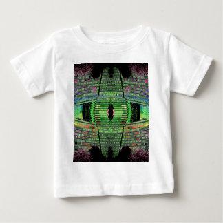 A criança futurista do desenhista do design caçoa t-shirts