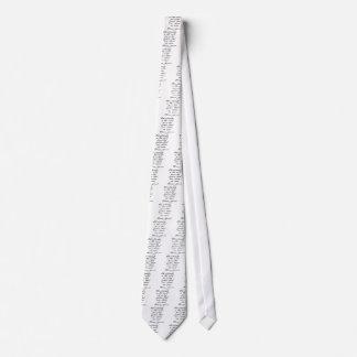 A cristandade é pervertida gravata