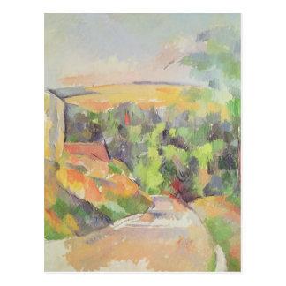 A curvatura na estrada, 1900-06 cartão postal