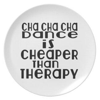 A dança do cha do cha de Cha é mais barata do que Louça De Jantar