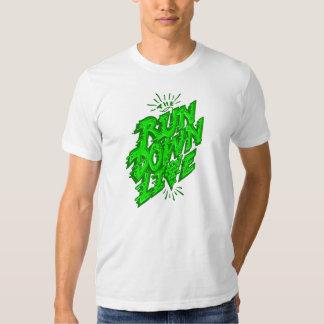 A degradação viva t-shirts