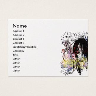 A diva da forma rodou cartão de visitas
