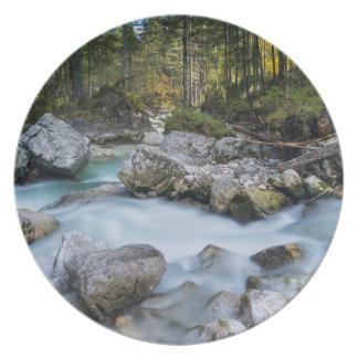 A dor de Ramsauer da torrente Louças De Jantar