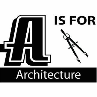A é para a arquitetura esculturafoto