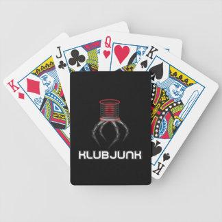a electro aranha/sopa do klubjunk pode cartões do baralhos de poker