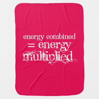 """A """"energia combinou"""" o carrinho de manta de bebe"""