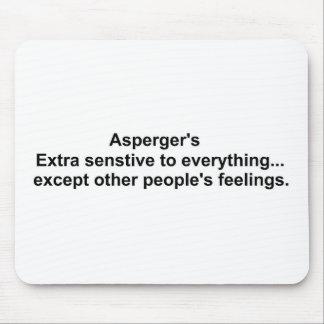 A engrenagem de Asperger Mouse Pad