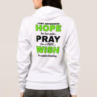 A esperança Pray o desejo… Lyme T-shirt